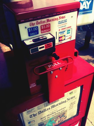 credit cards accepted newspaper