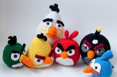 Angry Birds Crochet Patterns