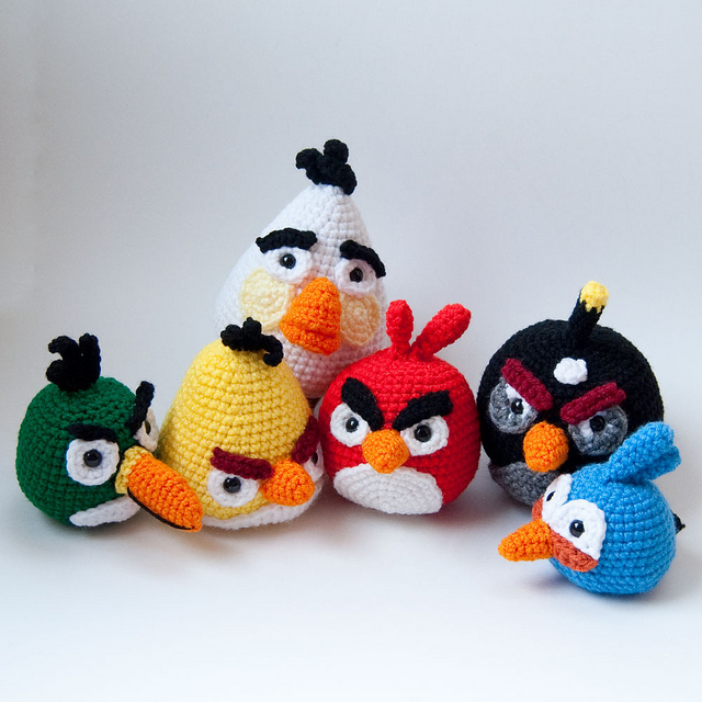 Angry Birds Crochet Patterns DISCONTINUED… BOO!