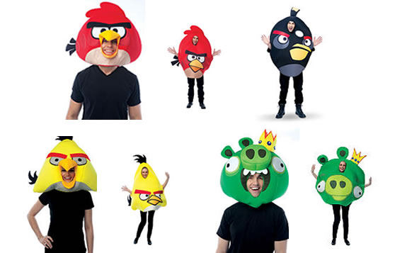 angry birds adult costumes