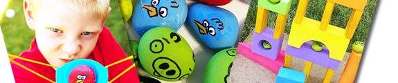 diy angry birds game