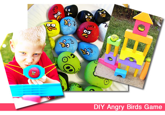 DIY Angry Birds Game for Kids