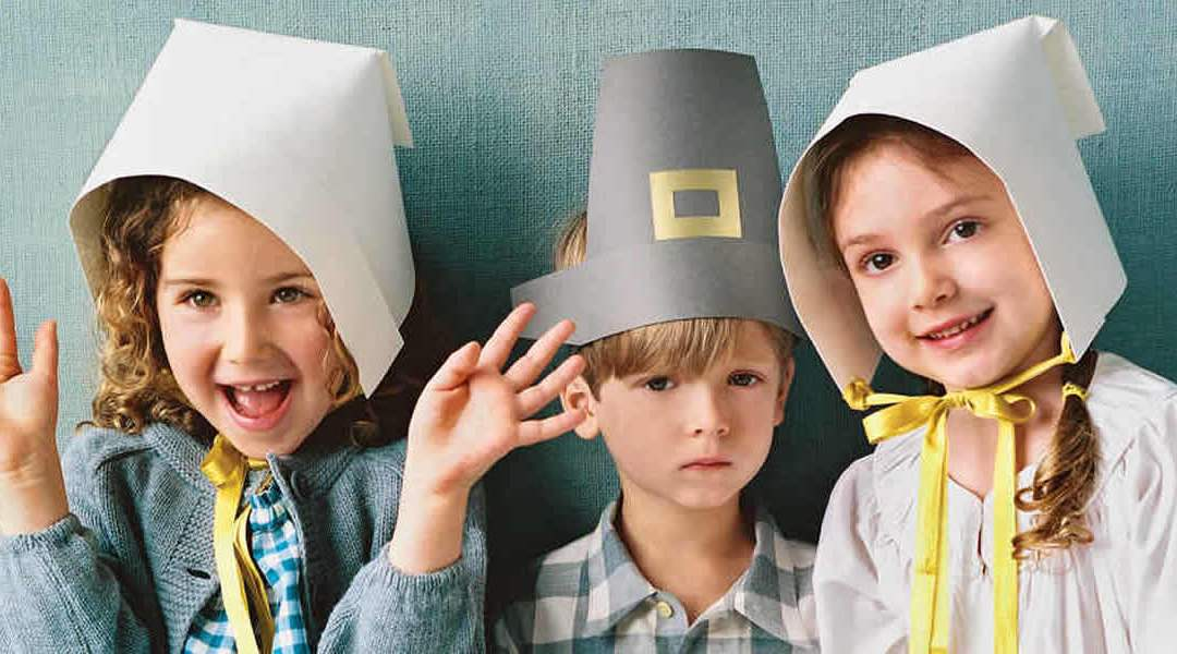 How to Make a Paper Pilgrim Hat for Kids