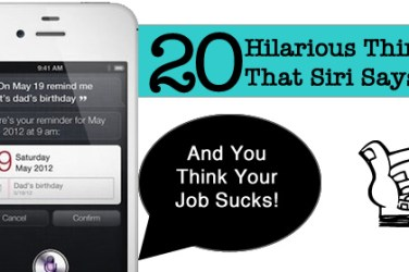 20 hilaroius things that siri says
