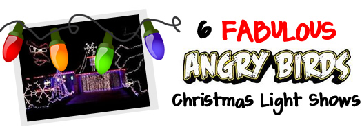angry birds light shows