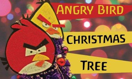 DIY angry birds ornaments