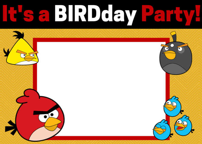 Free Angry Birds Invitations Download and Customize These – Angry Birds Party Invitations