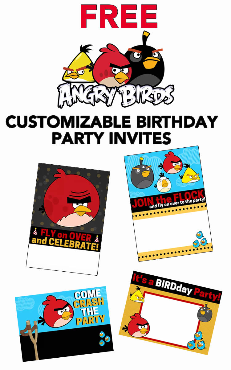 Free angry birds invitations download and customize these adorable free angry birds invitations filmwisefo Choice Image