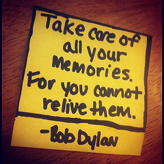 Daily Inspire – Reliving Memories – You Cant