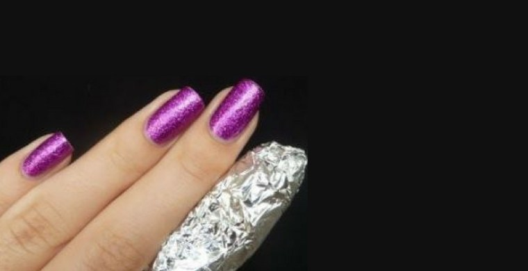 remove gel nail polish at home