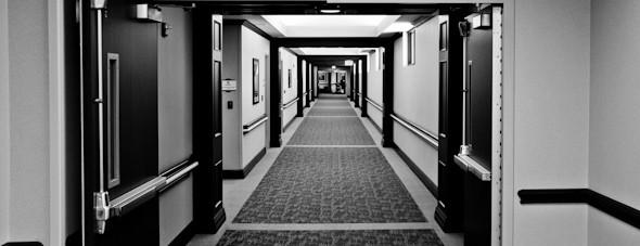 hospital hall way