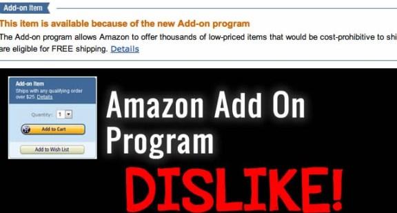 amazon add on program