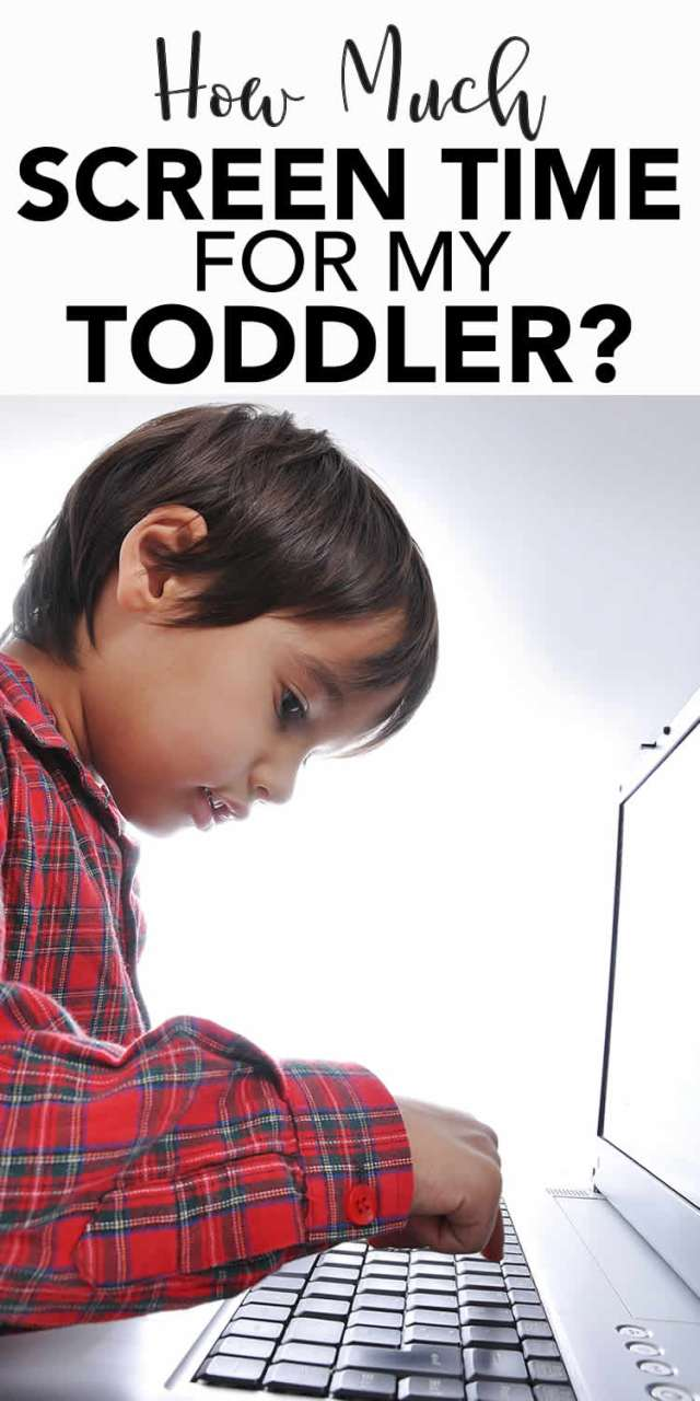 Toddler Screen Time