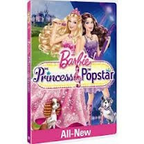 barbie princess popstar dvd