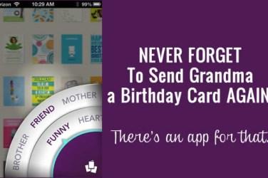 birthday card app