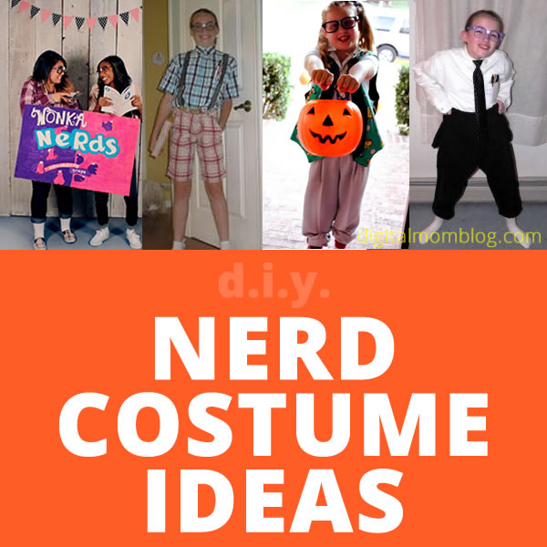 Halloween Nerd Costumes – Ideas for Girls and Boys