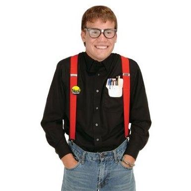 nerd costume kit