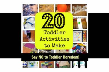 bored toddler activities