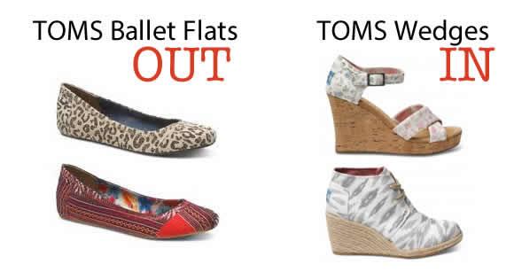 toms ballet flats discontinued