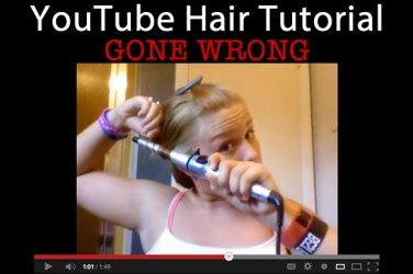 youtube video gone wrong