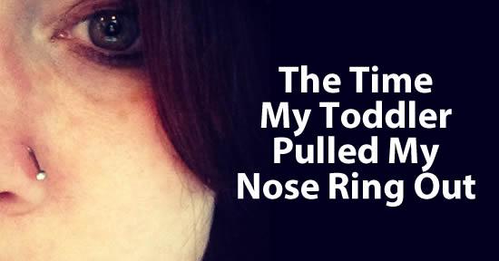 Toddler Nose Ring