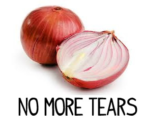 chop an onion without crying
