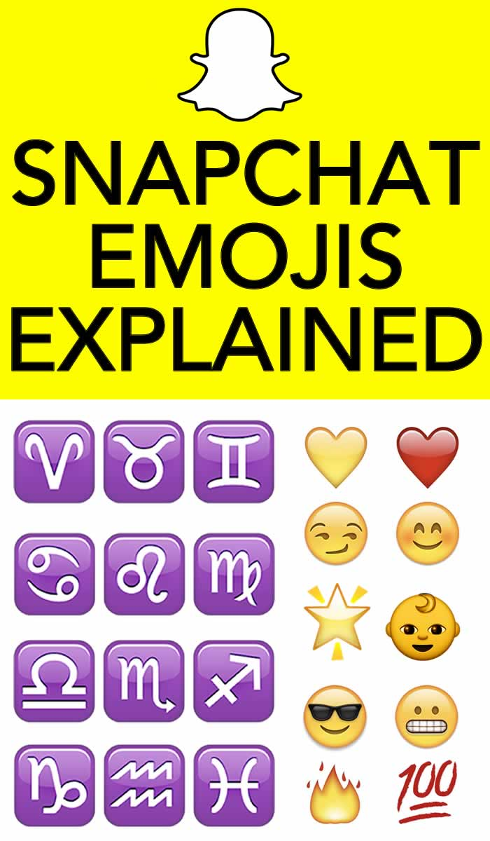 snapchat emojis meanings - What is Snapchat App and How to Use It - Your Complete Guide to Snap!