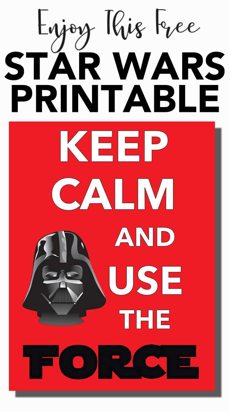 Free Star Wars Printable For Star Wars Day Digital Mom Blog