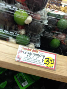guacamole kit at trader joes