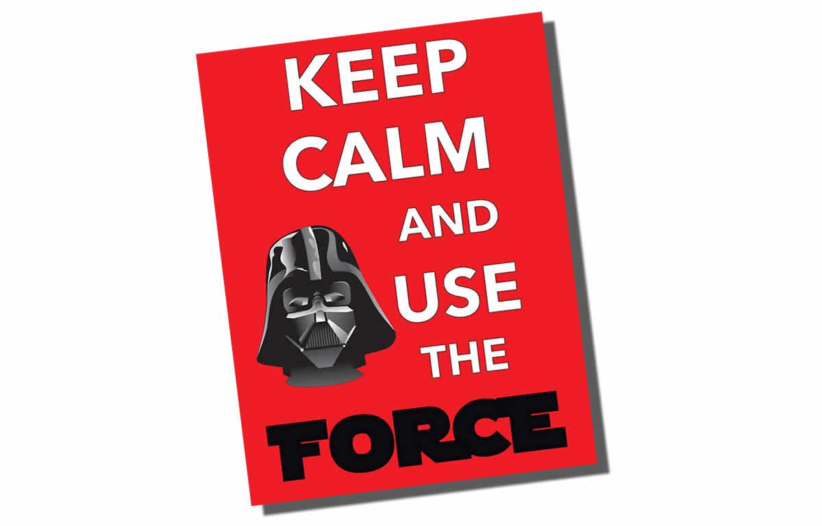 Free Star Wars Printable – May the 4th