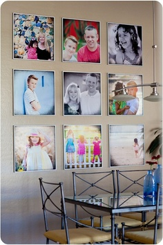 square-photo-wall