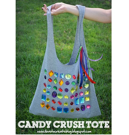 Candy Crush Tote