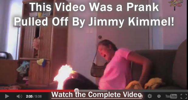 Twerk Fire Video a Prank Pulled by Jimmy Kimmel