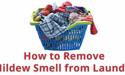 How to Remove Mildew Smell From Laundry