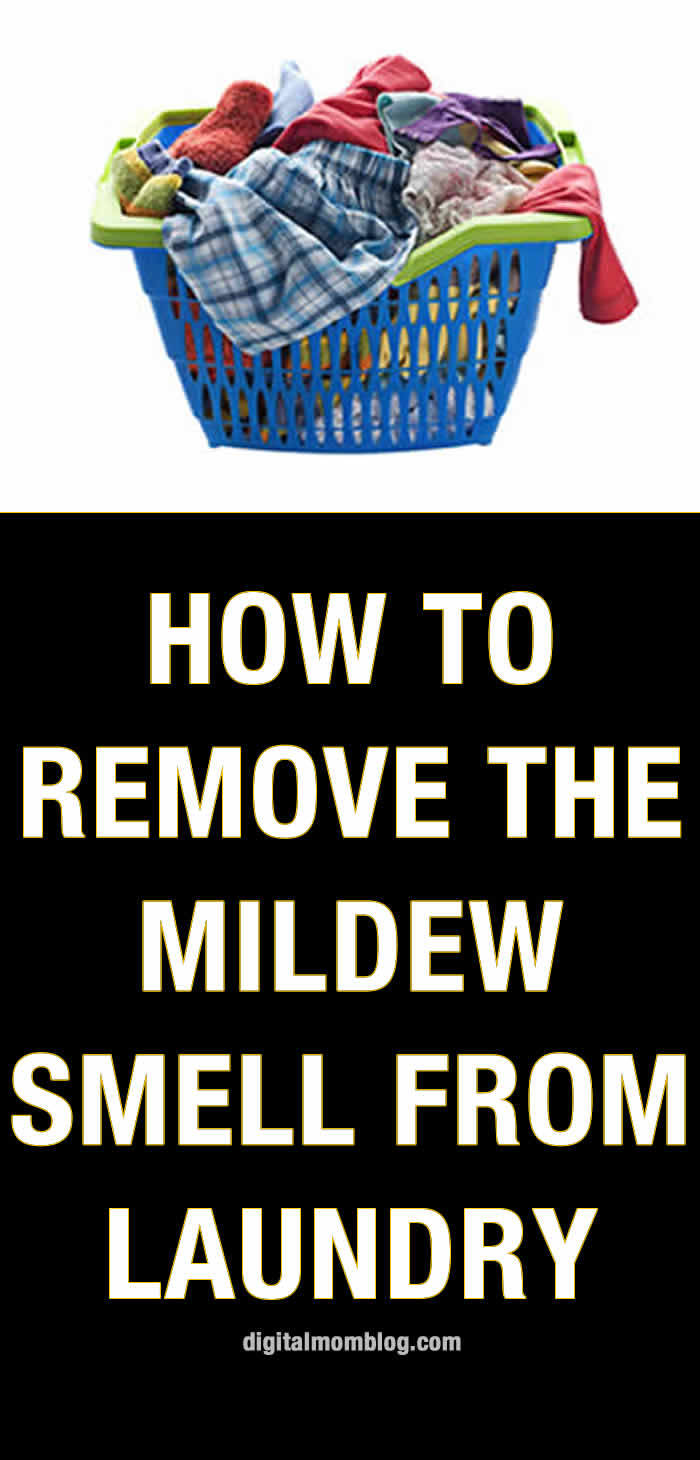 How to Remove the Mildew Smell From Laundry