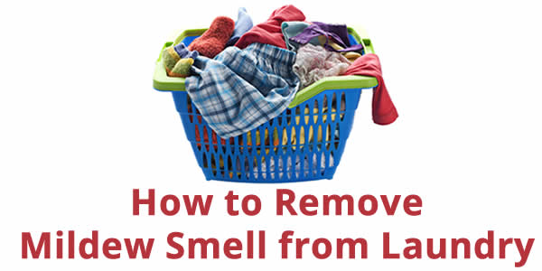 mildew smell laundry