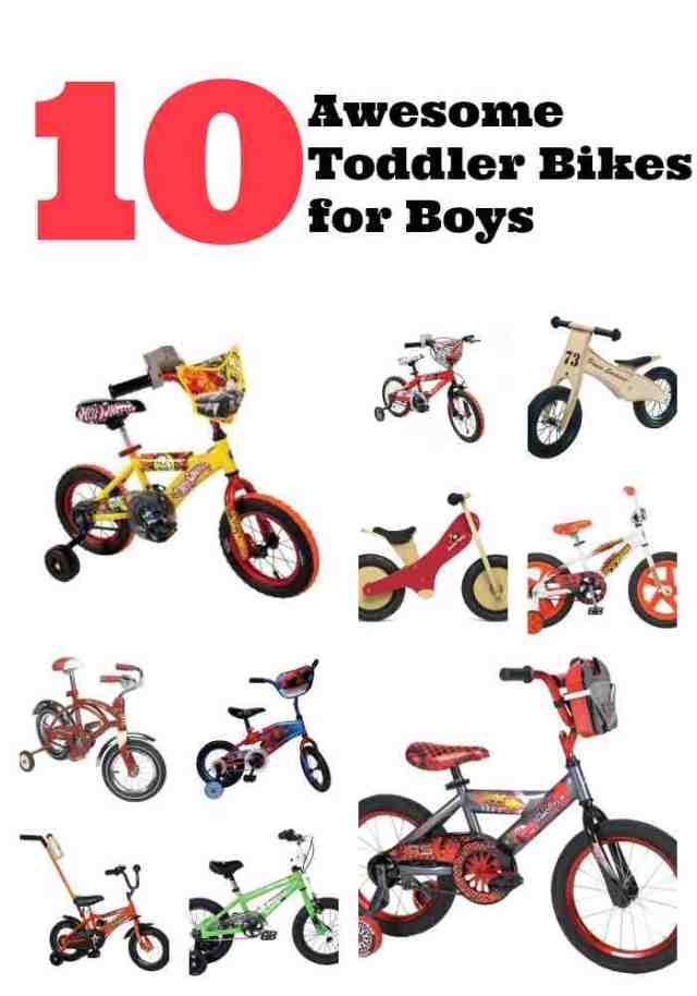 10 Toddler Bikes for Boys
