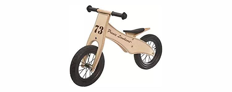 wooden toddler balance bikes - prince lionheart