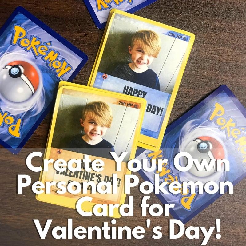 Pokemon Valentines Card Customize