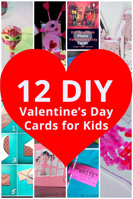 Diy Valentine S Day Cards For Kids