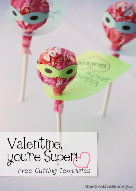 tootsie pop valentines day card