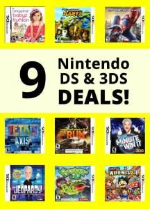nintendo ds video game deals