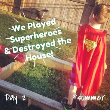 super hero summer bucket list idea
