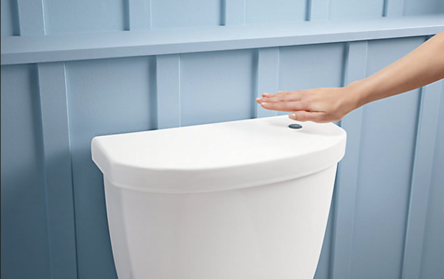kohler touchless toilet no touch flush