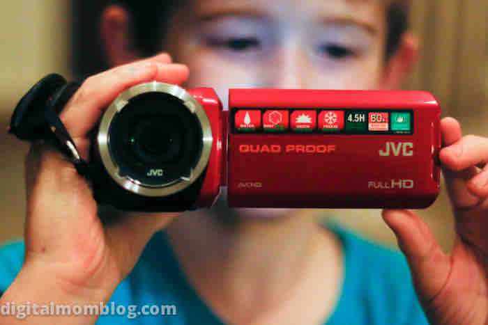 jvc quad proof camcorder