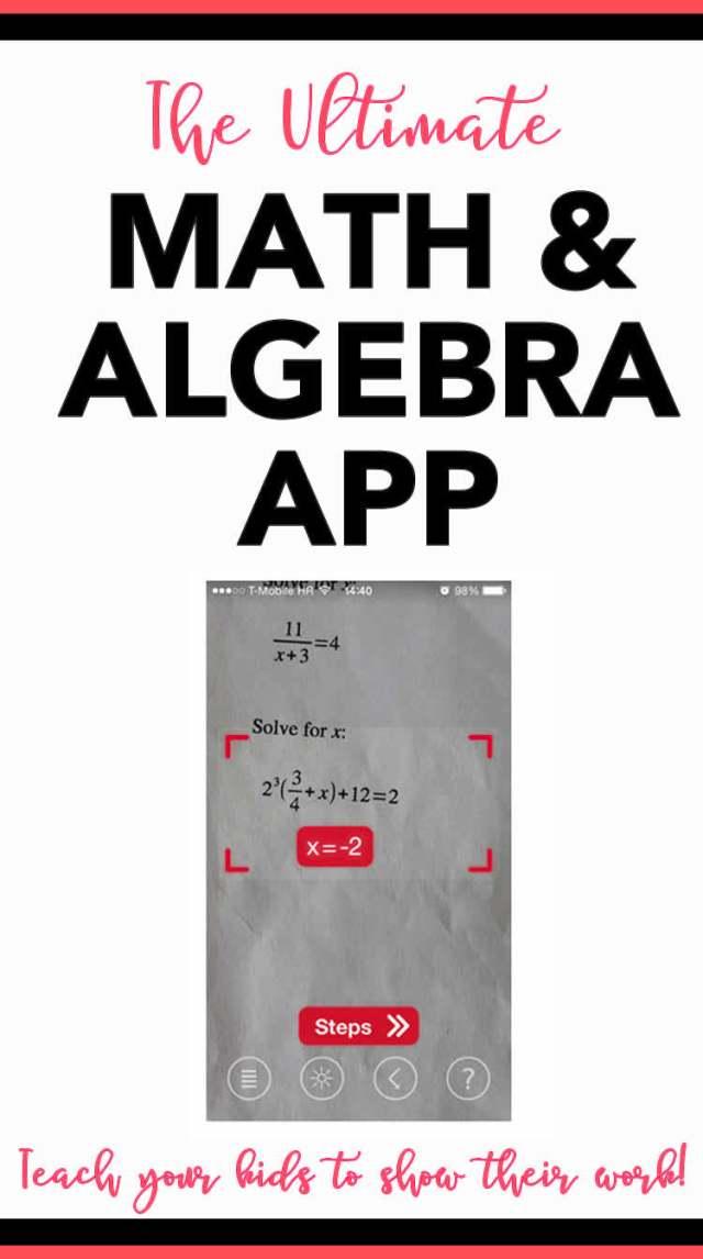 Photomath App - The Ultimate Math & Algebra App