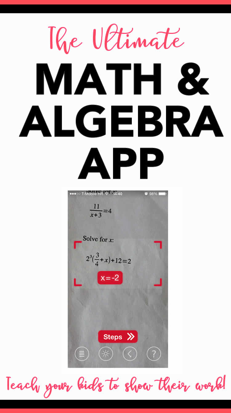 Photomath App - The Ultimate Math & Algebra App