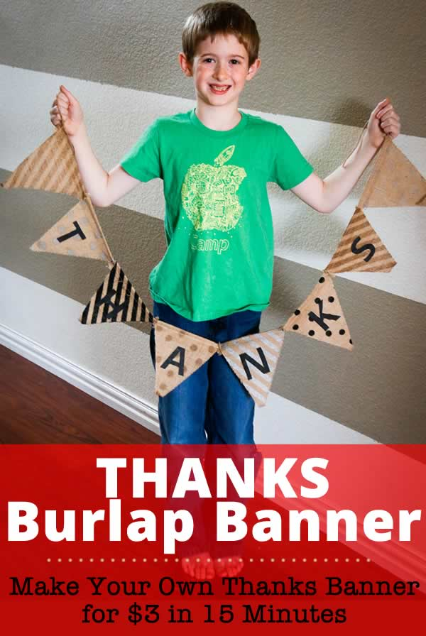Make a Thanks Banner