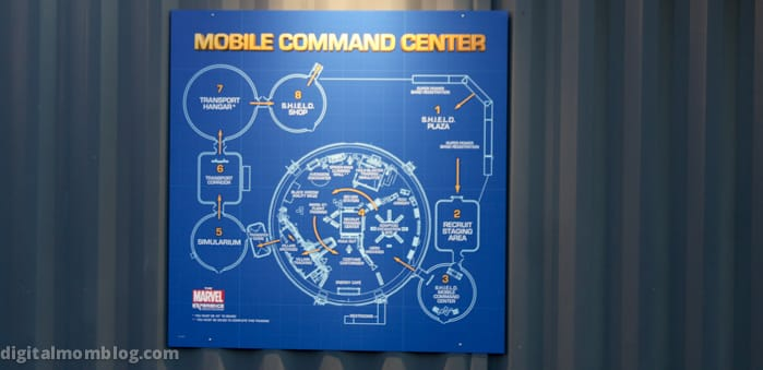 marvel experience command center