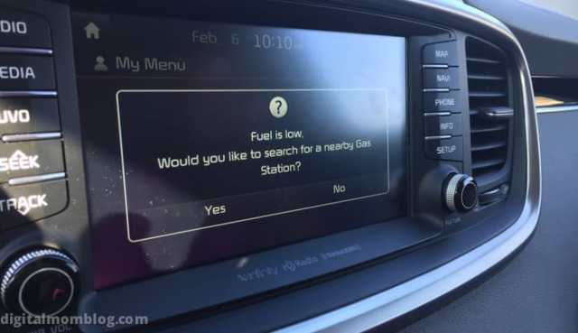 2016 kia sorento review gas